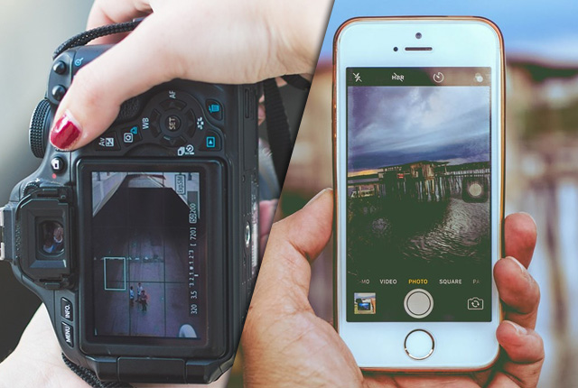 difference between mobile Camera and Digital Camera