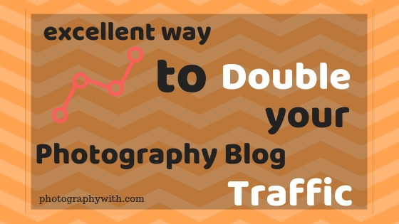 photography blog traffic